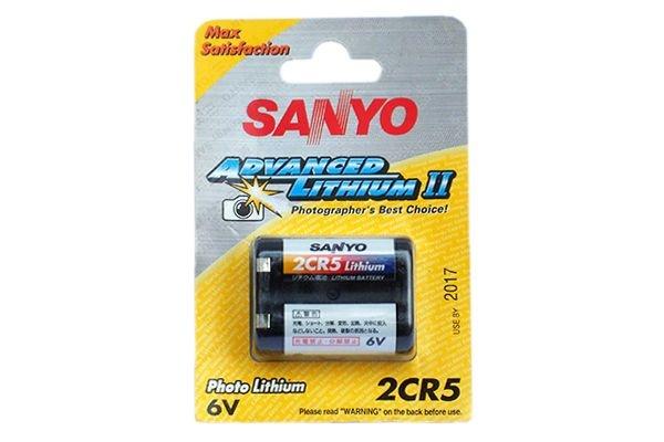 Bateria Sanyo 2CR5 Advanced Lithium II
