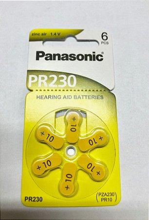 BATERIA AUDITIVA PR230 – Cartela com 6 peças