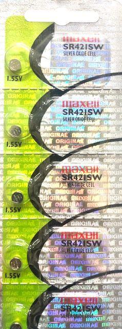 Bateria 348/SR421SW Cartela Ccom - 5 Peças
