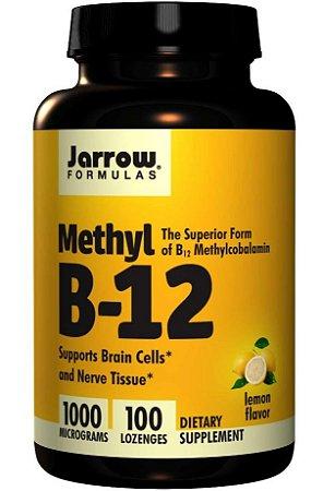 Vitamina B12 Importada 100 cápsulas Metilcobalamina 1000mcg Alta Absorção