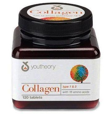 Colágeno 1000mg com 120 cápsulas Importado com 18 Aminoácidos