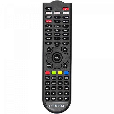 Controle Remoto Eurosat Pro