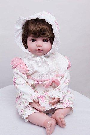 Bebe Reborn Maria Luiza de 55CM com Frete Grátis Brasil