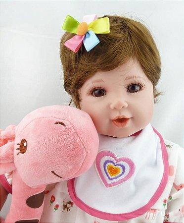 Nova Bebe Reborn Ariel Modelo Exclusivo - Pronta Entrega