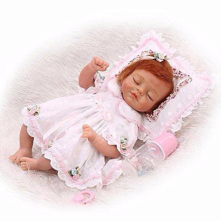 Bebê Ashley Reborn Bem Realística