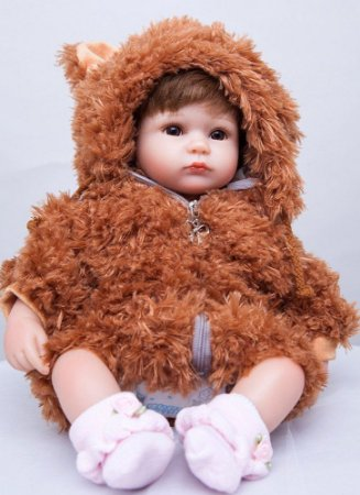 Bebe Reborn Ursinha Mel - Lançamento 2017 - Pronta Entrega