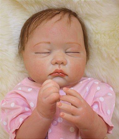 Bebe Reborn Emma com 55cm - Pronta Entrega
