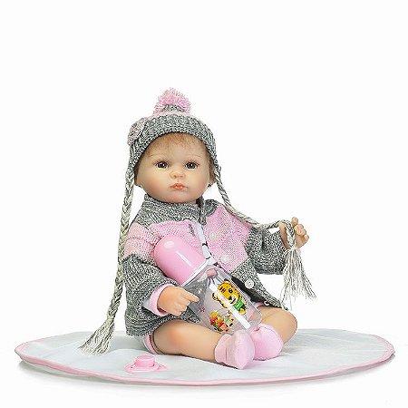 Bebê Reborn Lorena - Inverno 2017