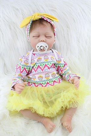 Bebe Reborn Analu com 55cm