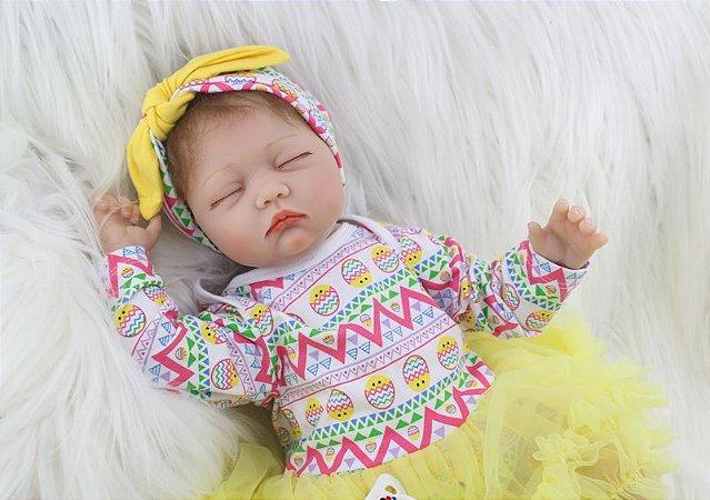 Bebe Reborn Analu com 55cm - Pronta Entrega