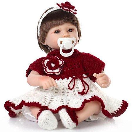 Bebê Reborn Melissa 40cm - Pronta Entrega!