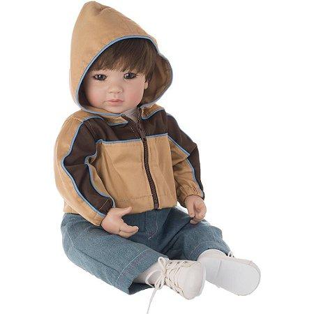 Bebe Reborn Realista Doll Explorer Boy - Pronta Entrega