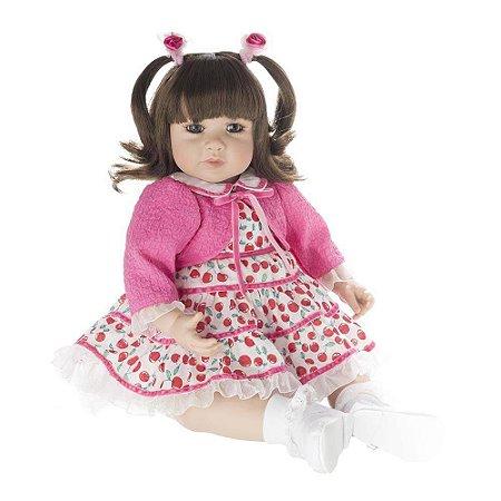 Boneca Bebe Reborn Realista Laura Doll Cherry - Envio Imediato