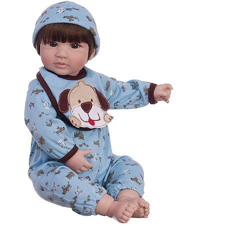Bebe Reborn Blue Petzz Realista com 46cm - Pronta Entrega