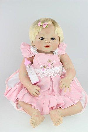 Bebe Reborn Renata Loira com 55cm - Pronta Entrega