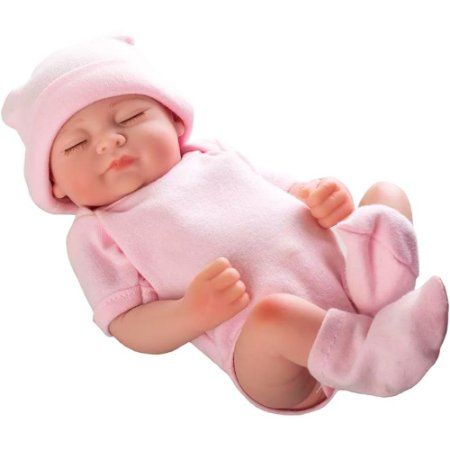 Boneca Mini Bebê Reborn Baby Angels Dream 25cm - Coleção Laura Doll