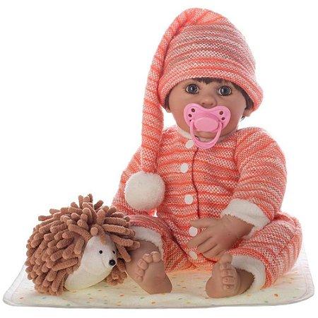 Boneco Bebê Reborn Miguel Pronta Entrega! - Coleção Laura Doll