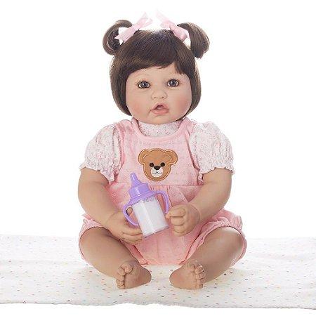 Bebe Reborn Laura Baby Amalia 50cm, Lançamento 2018 - Pronta Entrega