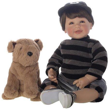 Boneco Bebe Reborn Realista Doll Dudu, 50cm - Pronta Entrega!