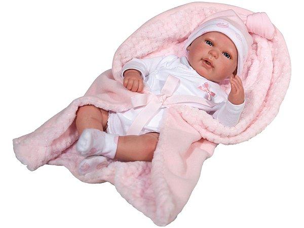 Lançamento! Bebe Reborn Realista Samira com linda caixa e cobertor