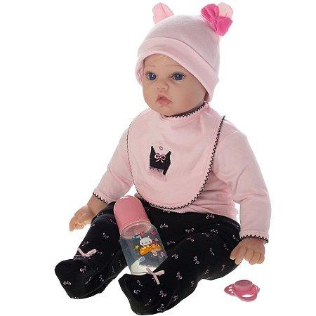 Boneca Bebe Reborn Baby Carol - Bebe Reborn