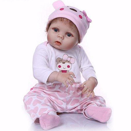 Bebê Reborn Rafaela 55cm - Envio Imediato!