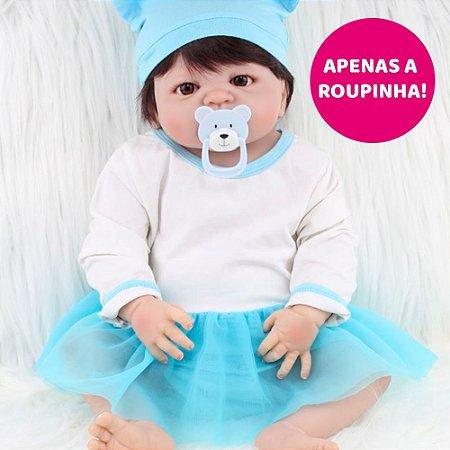Enxoval Bebê Gigi para Bebê Reborn 55cm - Somente a Roupinha!