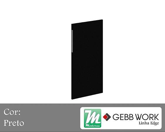 Edge - Porta Baixa de Vidro Preto