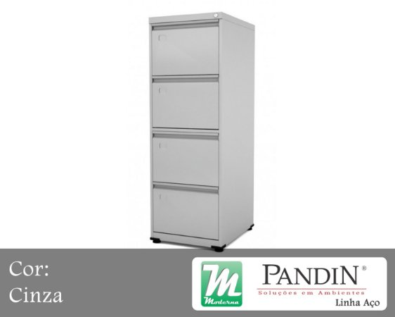 Pandin - Gaveteiro de Aço