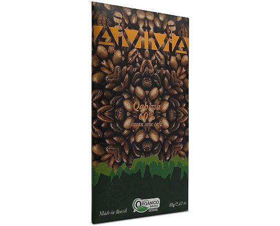 Chocolate Orgânico Qah'wa 60% Cacau 80g - Amma Chocolate