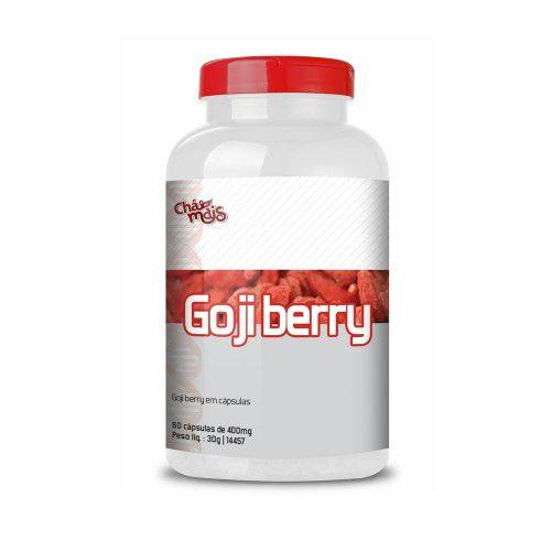 Goji Berry 400mg 60 Cápsulas - Chá Mais
