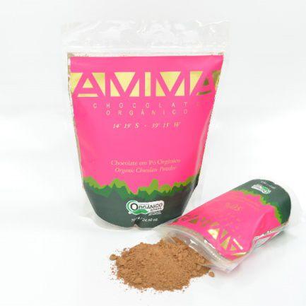 Chocolate em Pó Orgânico 700gr - Amma Chocolate