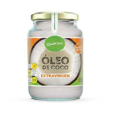 Óleo de Coco Extra Virgem 500ml - QualiCôco
