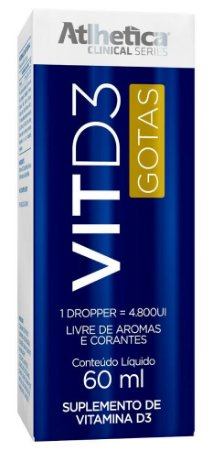 VITD3 60ml - Atlhetica Nutrition