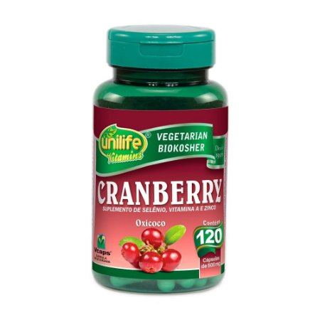 Cranberry 500mg 120 Cápsulas - Unilife