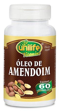 Óleo de Amendoim 1200mg 60 Cápsulas - Unilife