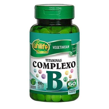 Complexo B 500mg - 60 Cápsulas - Unilife