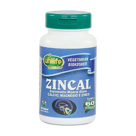 Zincal 950mg 60 Cápsulas - Unilife