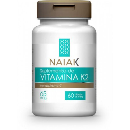 Vitamina K2mk7 378mg 60 Cápsulas - Naiak