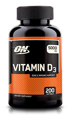 Vitamina D3 5.000IU 200 Cápsulas - On