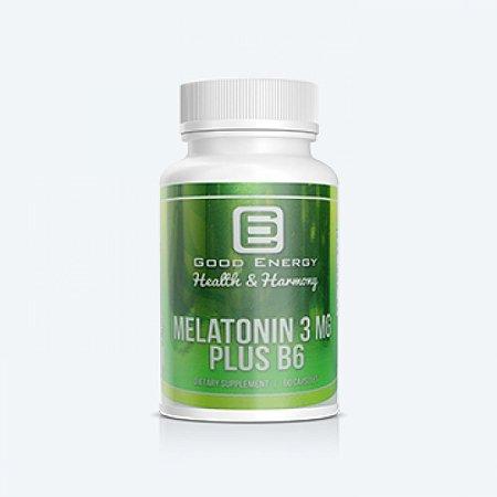 Melatonina 3mg 60 Cápsulas - Googd Energy