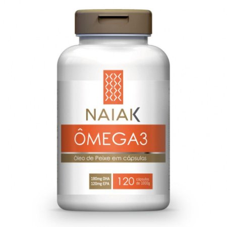 Ômega 3 1000mg 120 Cápsulas - Naiak