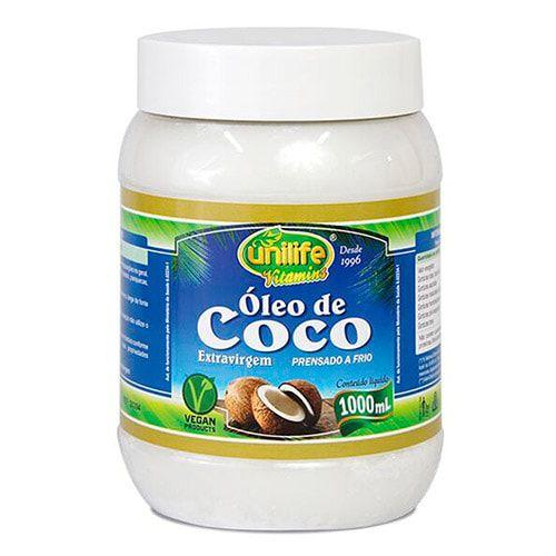 Óleo de Coco Extra Virgem 1000ml - Unilife