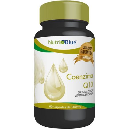 Coenzima Q10 + Vitamina E 60 Cápsulas - Nutriblue