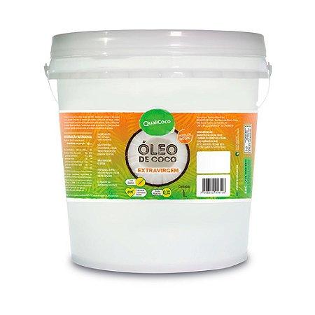 Óleo De Coco Extra Virgem 1 Litro - Qualicôco