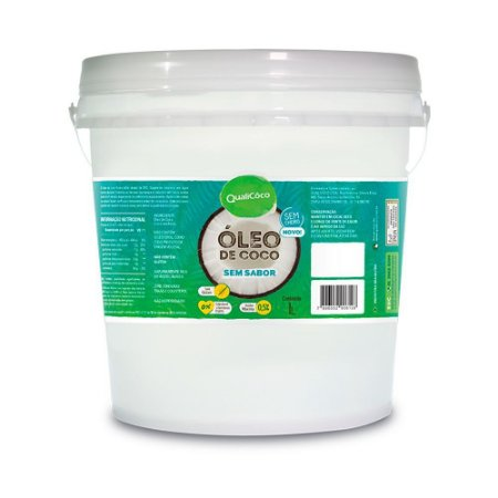 Óleo De Coco Sem Sabor 1 Litro - Qualicoco