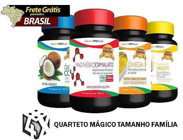 Quarteto Mágico - Tamanho Familia