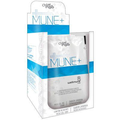 MUNE+ Instantâneo Para Imunidade (Lactoferrina Betaglucana) - 10 Sachês 5g - Chá Mais