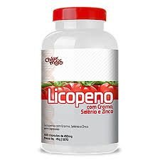 Licopeno 450mg 100 Cápsulas - Chá Mais