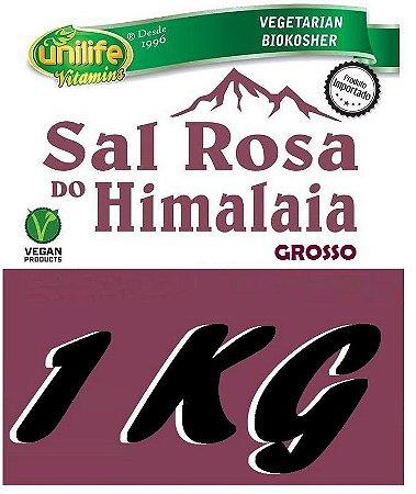 Sal Rosa Do Himalaia Grosso 1KG - Unilife